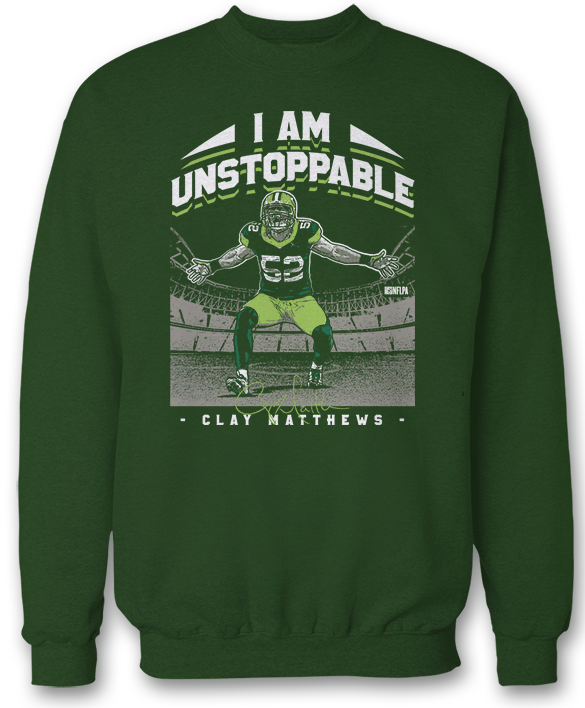 I Am Unstoppable - Clay Matthews III