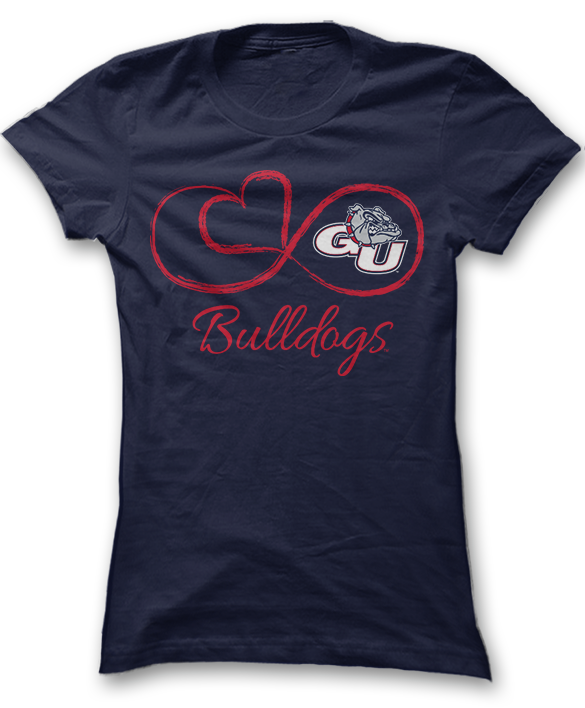 Infinite Heart - Gonzaga Bulldogs