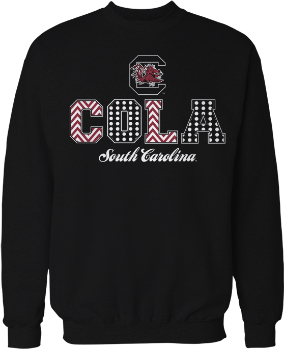 Patterned Letters (COLA) - South Carolina Gamecocks