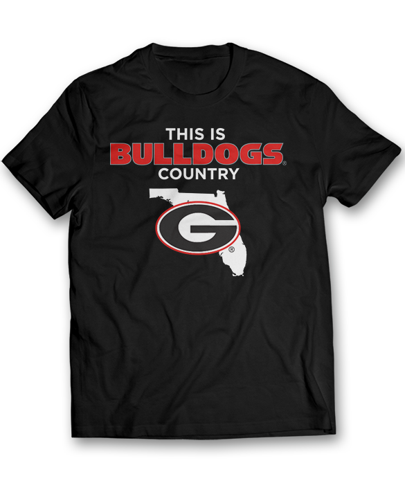 This Is Bulldogs Country (Florida) - Georgia Bulldogs