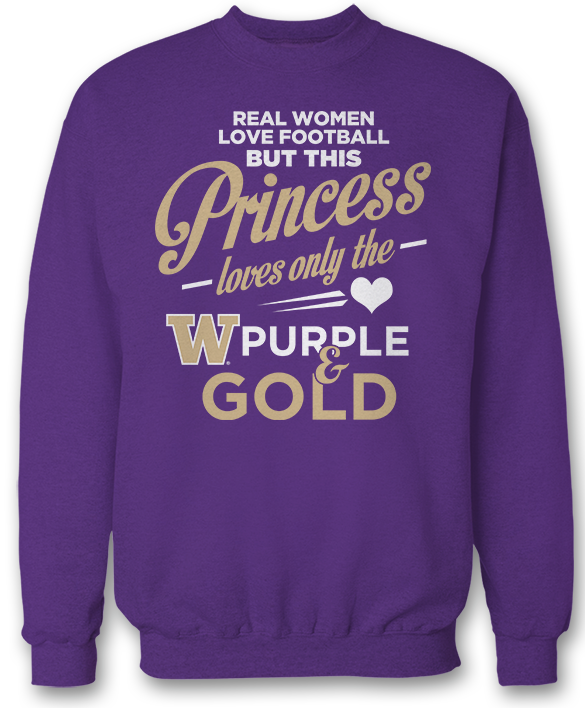 This Princess Loves Only The - Washington Huskies