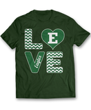 Stacked Love - Eastern Michigan Eagles