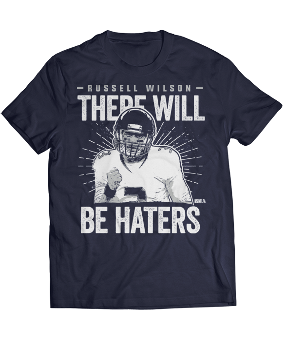 There Will Be Haters - Russell Wilson
