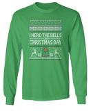 I Herd The Bells On Christmas Day (Ugly Christmas Sweater) - Marshall Thundering Herd