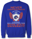 Never Underestimate The Power Of - Boise State Broncos