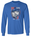 Two face (2016 World Champions) David Ross - Jon Lester