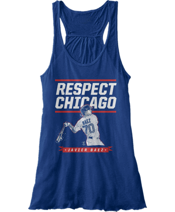 Respect Chicago - Javier Baez