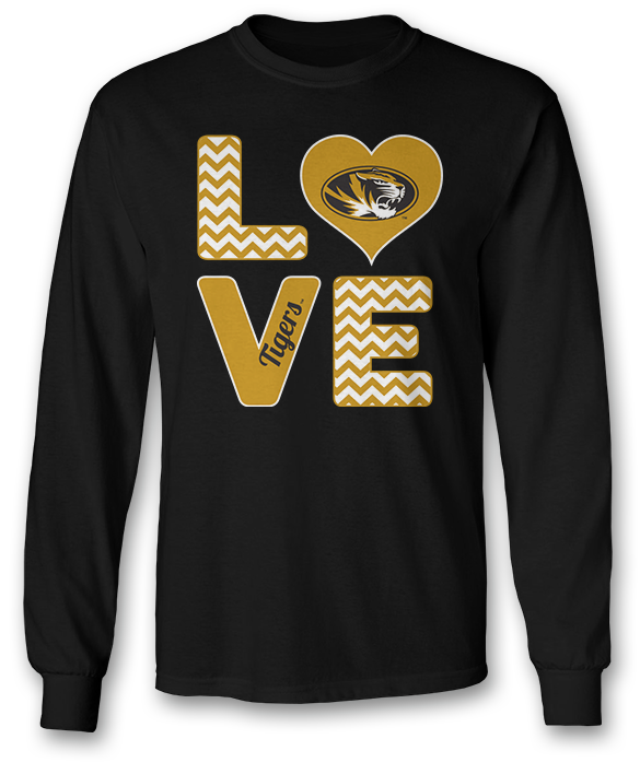 Stacked Love - Mizzou Tigers