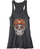 Sugar Skull Cap - Texas Longhorns