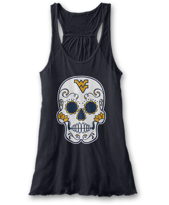Sugar Skull - West Virginia Mountaineers