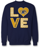 Stacked Love - Kent State Golden Flashes