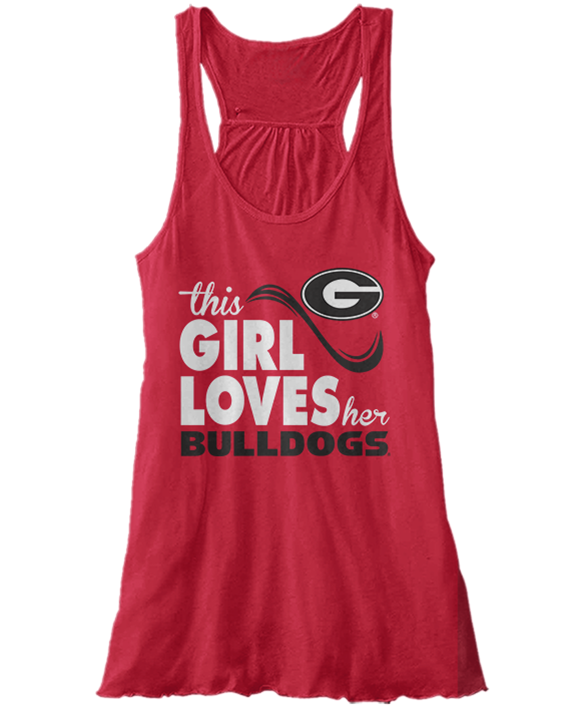 This Girl Loves Her - Georgia Bulldogs