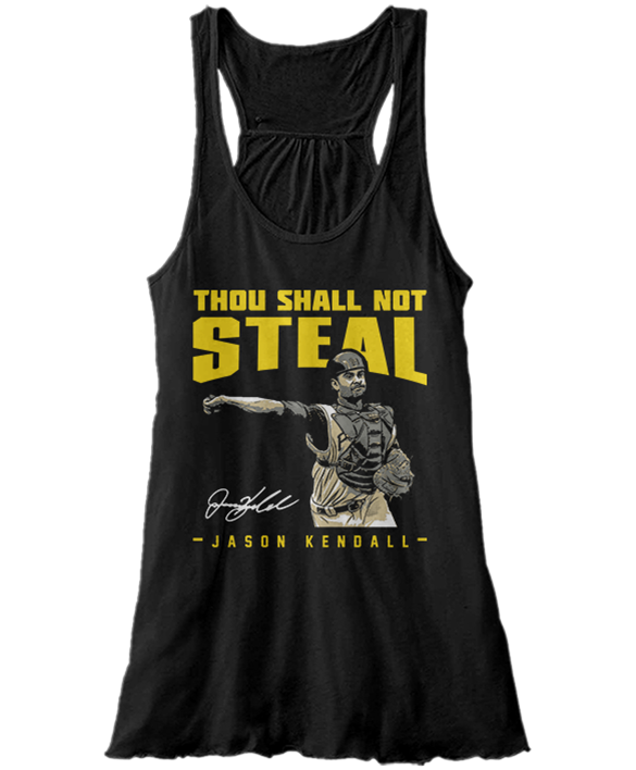 Thou Shall Not Steal - Jason Kendall