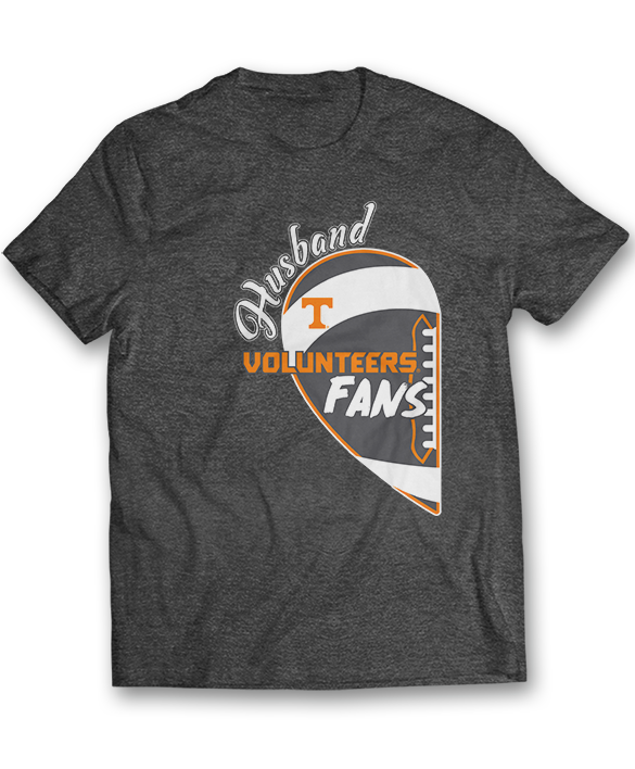 Husband Heart -Tennessee Volunteers