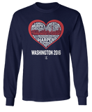 Washington 2016 Skyline Word Heart - Bryce Harper