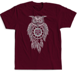 Sugar Skull Owl - Texas A&M Aggies