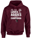 This Girl Loves Her Dog (Chihuahua) - Texas A&M Aggies