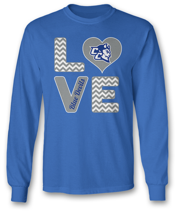 Stacked Love - Central Connecticut Blue Devils