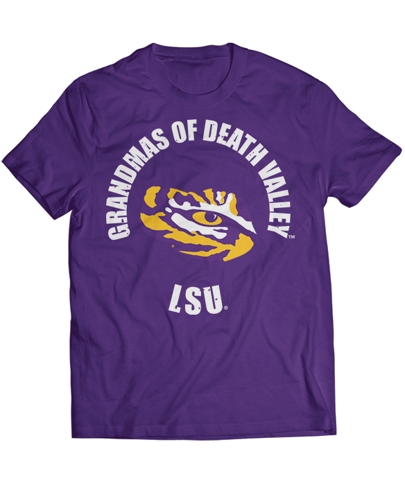 Grandmas Of Death Valley - LSU Tigers