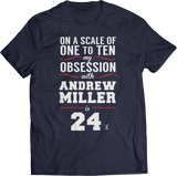 My Obsession From 1 to 10 With Andrew Miller is 24