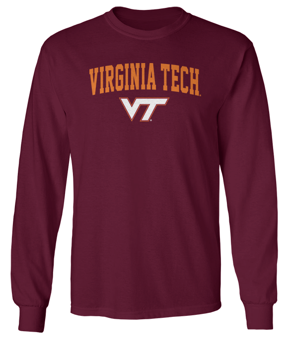 Simple Arch - Virginia Tech Hokies