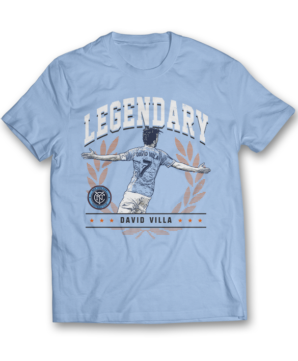 Legendary - David Villa