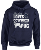 This Girl Loves Her Dog (Pug) - Dallas Cowboys