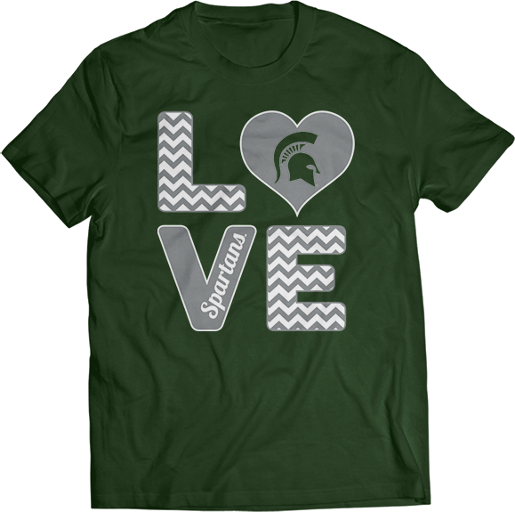 Stacked Love - Michigan State Spartans