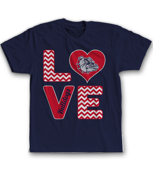 Stacked Love - Gonzaga Bulldogs