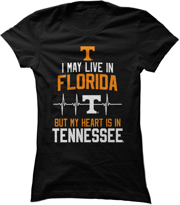 May Live Florida But My Heart Is In (EKG) - Tennessee Volunteers