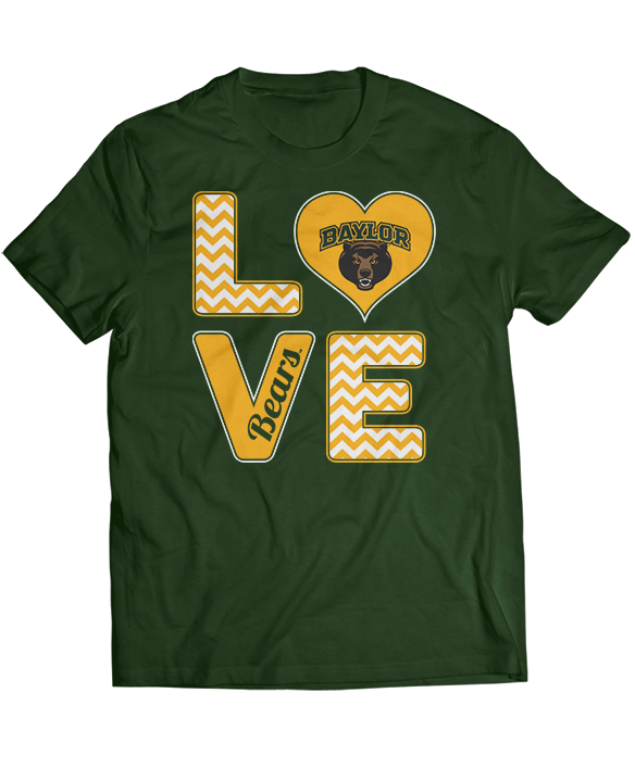 Stacked Love - Baylor Bears