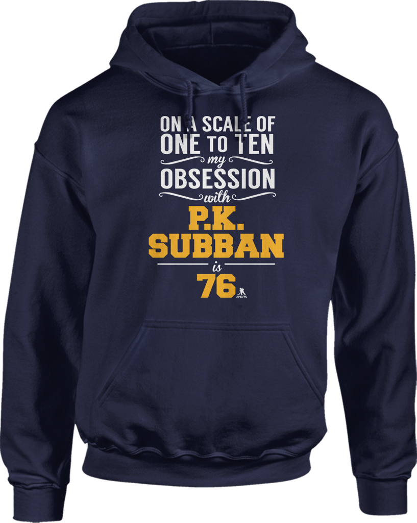 My Obsession From 1 to 10 With P.K. Subban Is 76