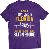 May Live Florida But My Heart Is In (EKG) - LSU Tigers