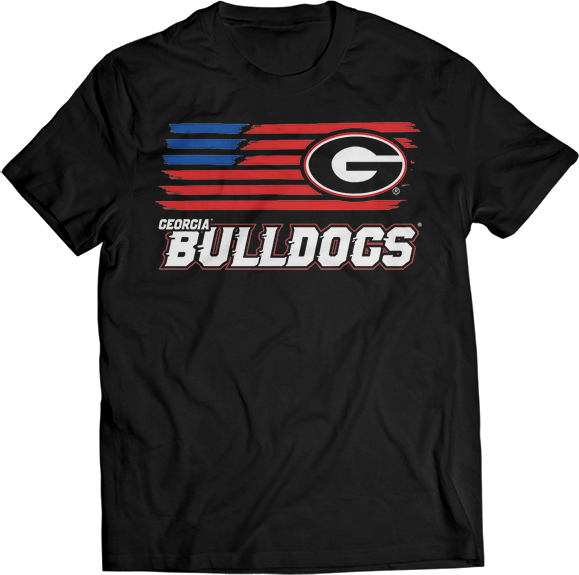 Flag Streak - Georgia Bulldogs