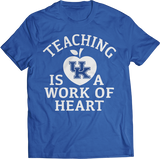 Teaching Is A Work Of Heart - Kentucky Wildcats