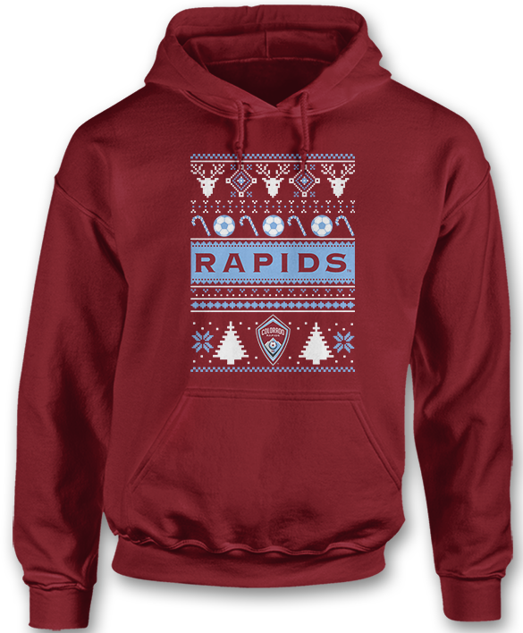 Ugly Christmas Sweater - Colorado Rapids