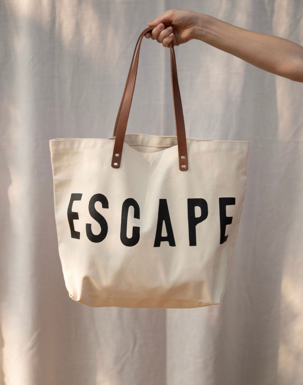 ESCAPE Canvas Tote