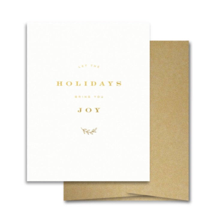 Smitten on Paper - Holiday Joy Greeting Card