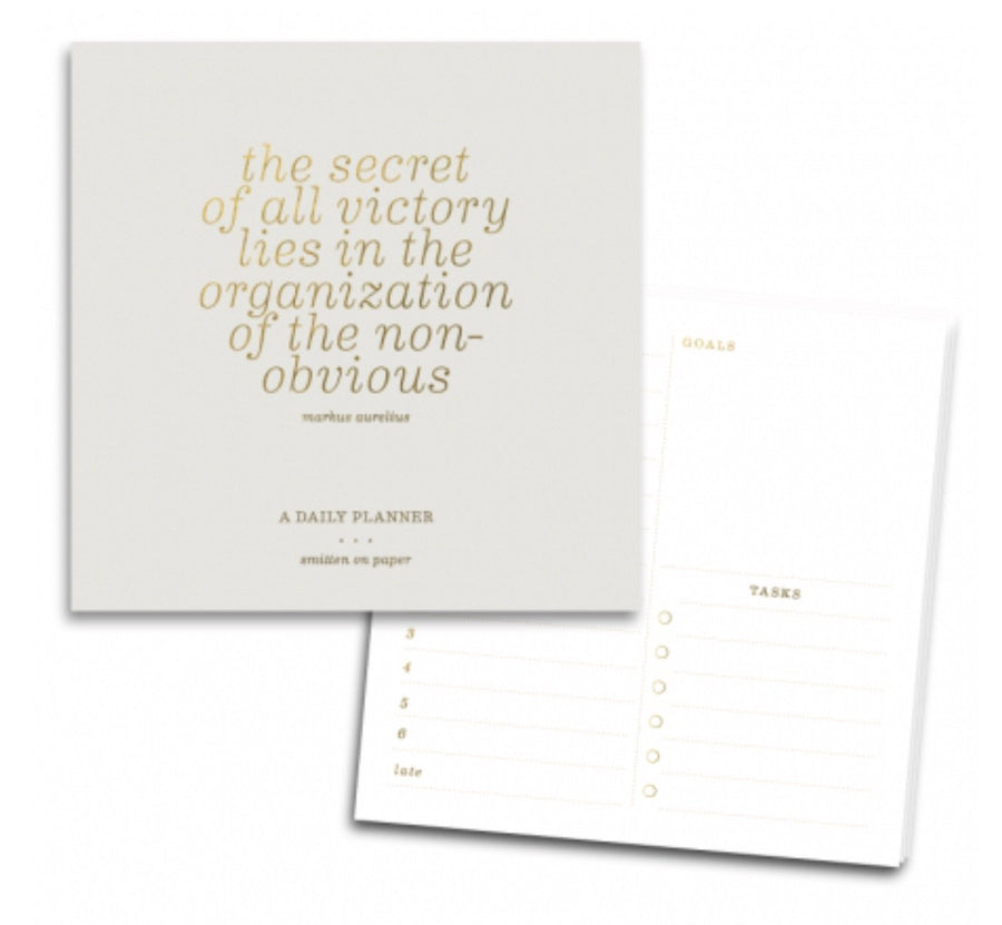 Smitten on Paper - Organization Note Pad