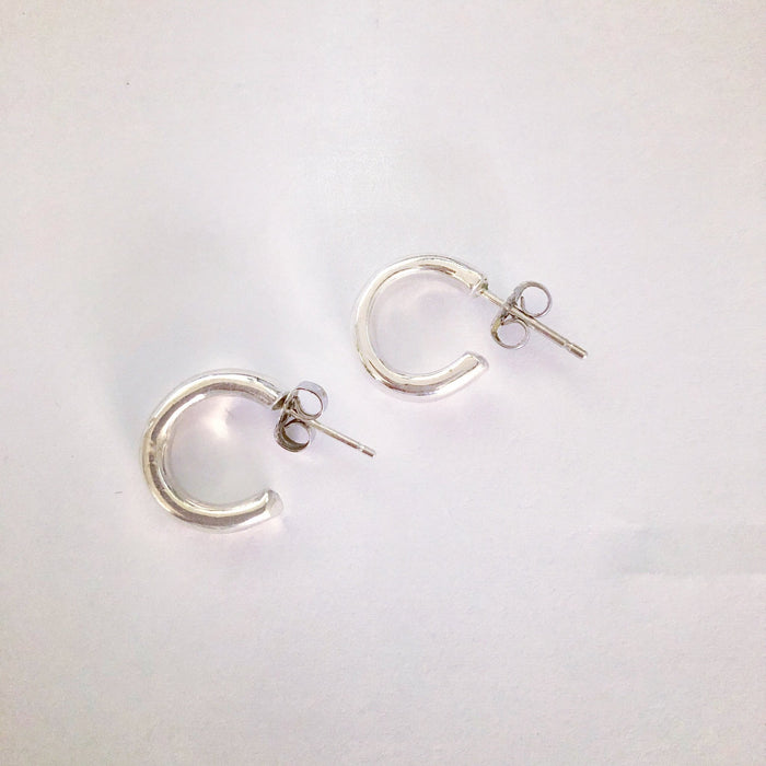 Concrete Collective Classic Chunky Lobe Hoops