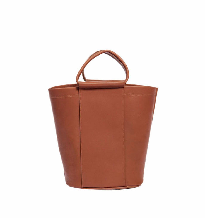 BOUTONNE - James Petite Panel Bucket - Cognac