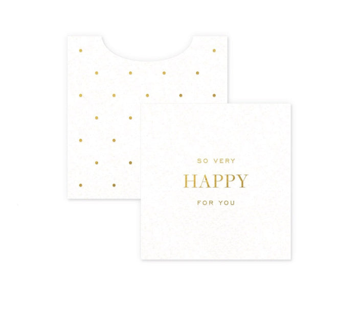 Smitten on Paper Mini Card Enclosure - Happy For You