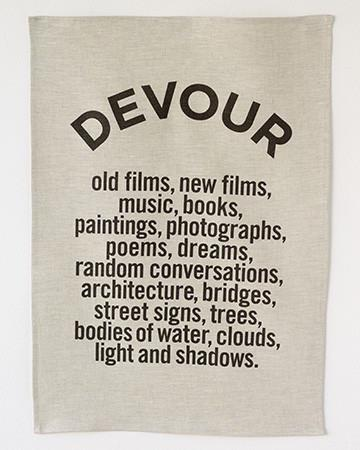 DEVOUR Linen Tea Towel