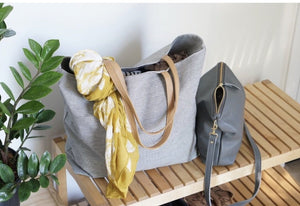 Umbrella Collective Oversized Denim Tote