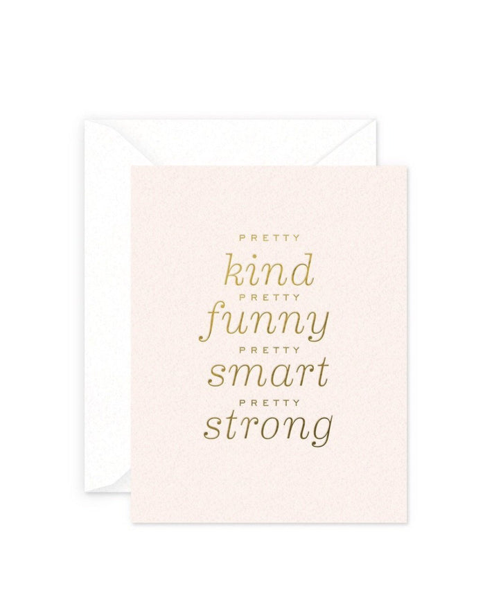Smitten on Paper Pretty Kind Greeting Card