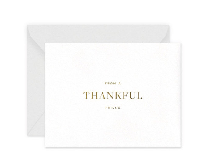 Smitten on Paper Thankful Friend Greeting Card