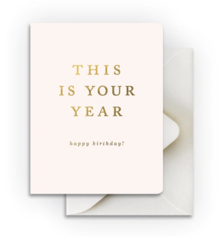 Smitten on Paper Your Year Birthday Card