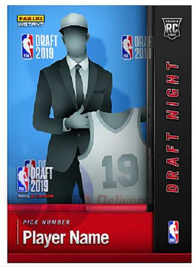 2019 2020 Zion Williamson Panini Nba Draft Pick Rookie Card