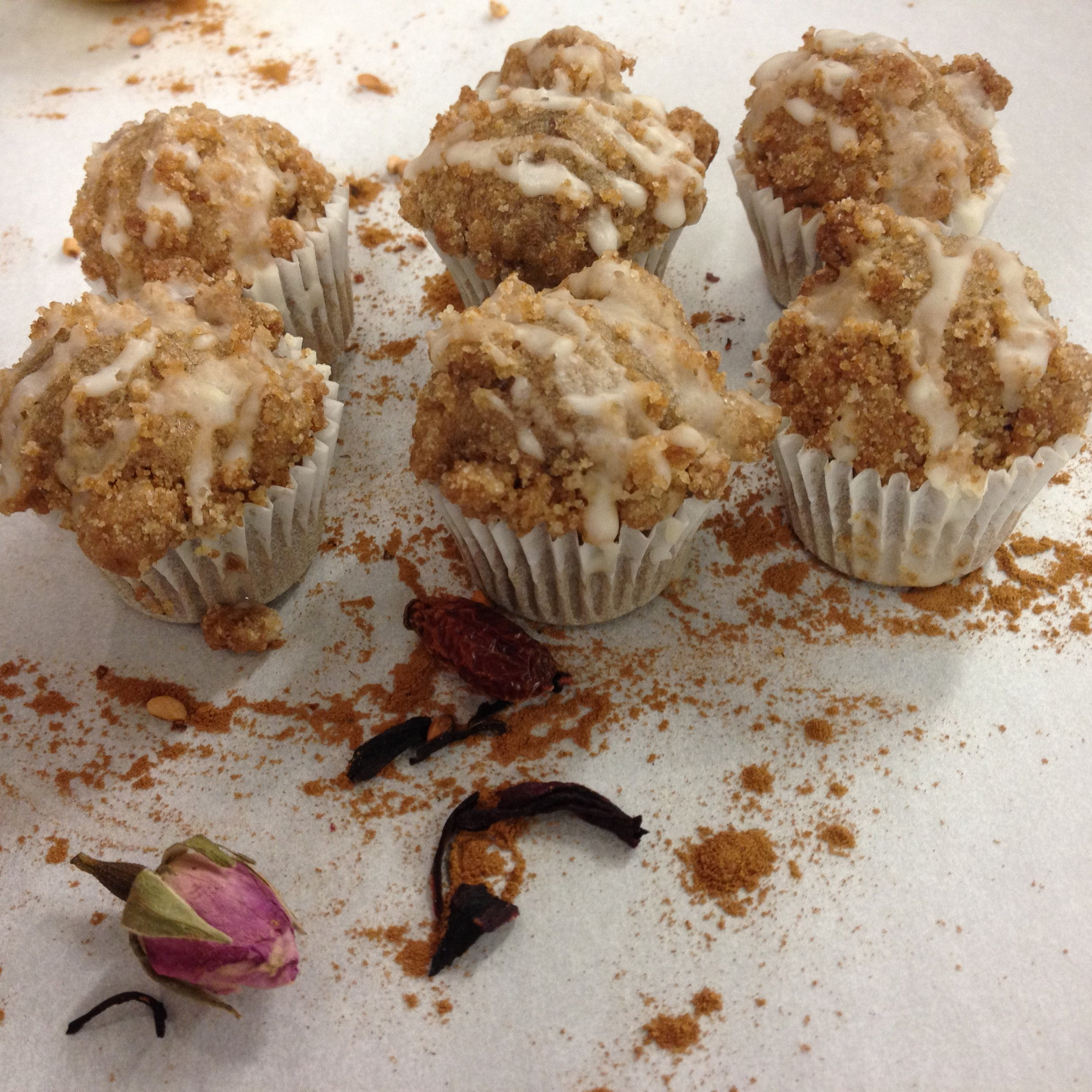 Organic Sprouted Coffee Cake Muffin @