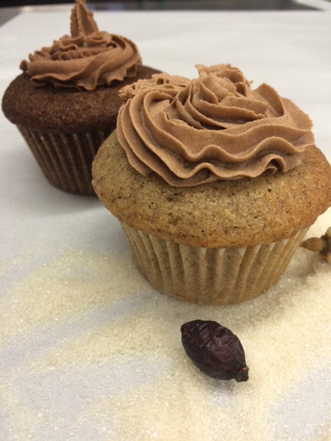 Sprouted Yellow Cupcake@